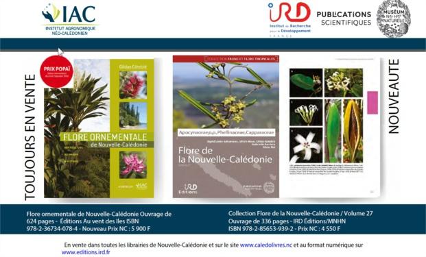 Deux ouvrages de référence pour (re)découvrir l'exceptionnelle richesse floristique de Nouvelle-Calédonie