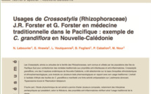 Usages de Crossostylis (Rhizophoraceae) J.R. Forster et G. Forster en médecine traditionnelle dans le Pacifique